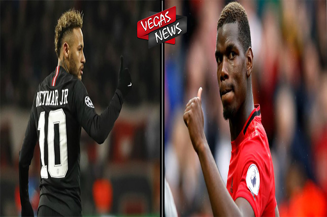 Neymar, Pogba, Real Madrid, Manchester United, PSG, Vegas338 News