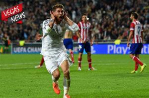 real madrid, atletico madrid, sergio ramos, diego simeone, derby madrid, liga spanyol, vegas338 news