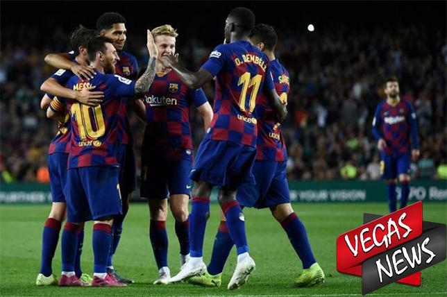 Barcelona, Real Madrid, Liga Spanyol, Barca, Madrid, Vegas338 News