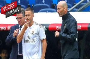Eden Hazard, Zinedine Zidane, Real Madrid, Liga Champions, Berita Bola, Berita Olahraga, Vegas338 News