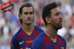 Leonel Messi, Antoine Griezmann. Gerard Pique, Luis Suarez, Neymar, Barcelona, Berita Bola, Vegas338 News
