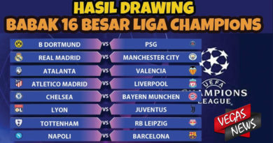 Hasil Drawing Liga Champions Madrid Vs City