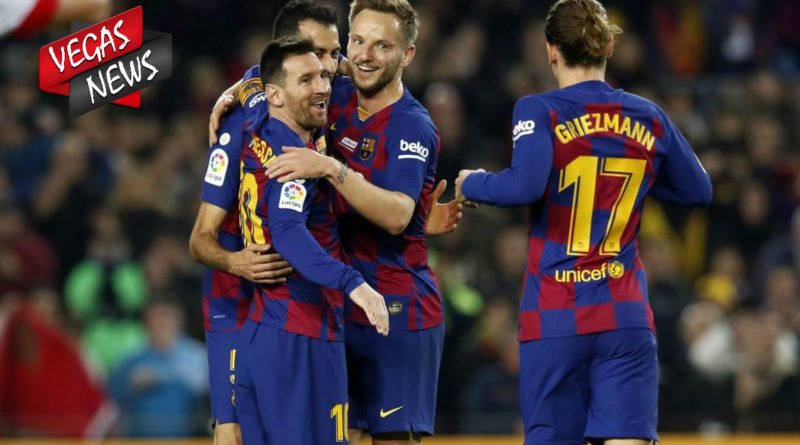 Hasil Liga Spanyol Barcelona kalahkan Alaves 4 - 1