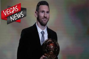 Lionel Messi Meraih Ballon d'Or 2019