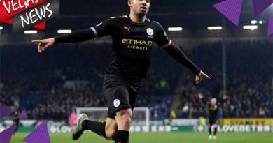 Manchester City Menang Telak Lawan Burnley 4 - 1