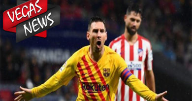 Messi Membuat kemenangan Barcelona Vs Atletico Madrid 1-0