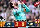 Barcelona Harus Menelan Kekalahan Melawan Valencia