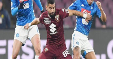 Hasil Liga Italia Napoli Vs Torino: Partenopei Menang Tipis