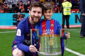 Bakat Anak Lionel Messi Semakin Terlihat